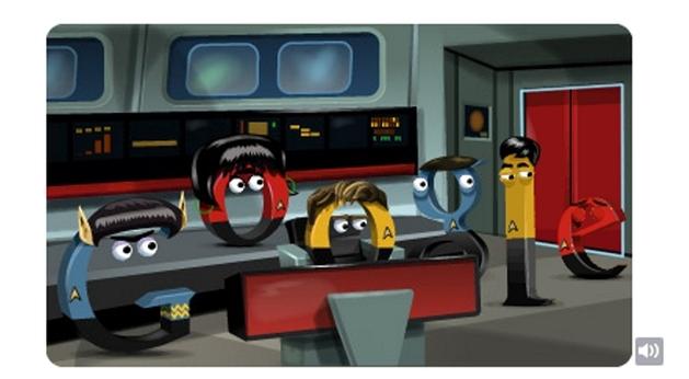 Aniversário de Star Trek – o Doodle mais fantástico da história | Tec Cia