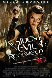 Resident Evil 4: Recomeço - Poster / Capa / Cartaz - Oficial 1