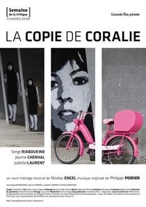 A Cópia de Coralie - Poster / Capa / Cartaz - Oficial 1