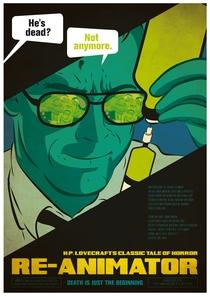 Re-Animator - Poster / Capa / Cartaz - Oficial 11