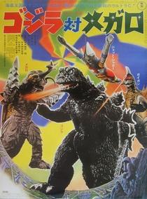 Godzilla vs. Megalon - Poster / Capa / Cartaz - Oficial 1