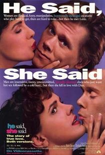 Ele Disse, Ela Disse - Poster / Capa / Cartaz - Oficial 1