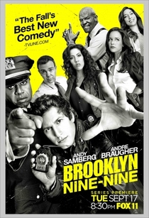 Brooklyn Nine-Nine (1ª Temporada) - Poster / Capa / Cartaz - Oficial 1