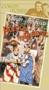 Pardon My Sarong - Poster / Capa / Cartaz - Oficial 1