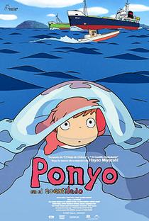 Ponyo: Uma Amizade que Veio do Mar - Poster / Capa / Cartaz - Oficial 37