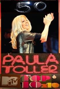Top 10 MTV: Paula Toller 50 Anos - Poster / Capa / Cartaz - Oficial 2