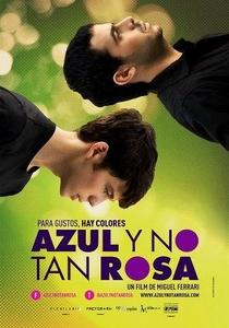 Azul e Não Tão Rosa - Poster / Capa / Cartaz - Oficial 1