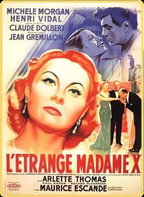 L'Étrange Madame X - Poster / Capa / Cartaz - Oficial 3