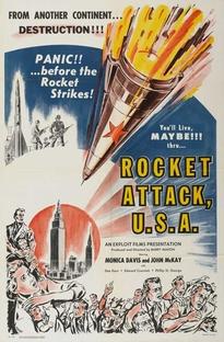 Rocket Attack U.S.A. - Poster / Capa / Cartaz - Oficial 1