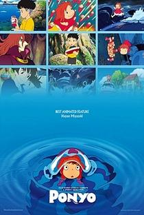 Ponyo: Uma Amizade que Veio do Mar - Poster / Capa / Cartaz - Oficial 28