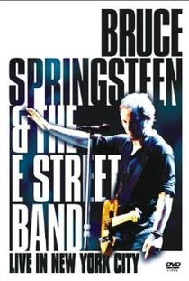 Bruce Springsteen - Live In New York  - Poster / Capa / Cartaz - Oficial 1
