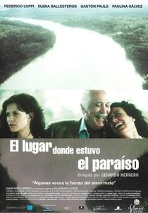 El lugar donde estuvo el paraíso - Poster / Capa / Cartaz - Oficial 1