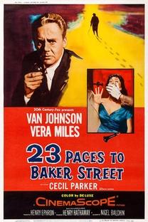A 23 Passos da Rua Baker - Poster / Capa / Cartaz - Oficial 3