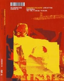 Cabaret Voltaire - Live At The Hacienda 83/86 - Poster / Capa / Cartaz - Oficial 1