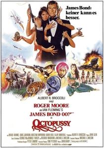 007 - Contra Octopussy - Poster / Capa / Cartaz - Oficial 1