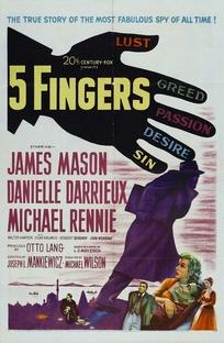 Cinco Dedos - Poster / Capa / Cartaz - Oficial 1