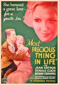 The Most Precious Thing in Life - Poster / Capa / Cartaz - Oficial 1