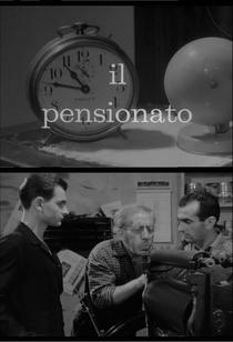 Il Pensionato - Poster / Capa / Cartaz - Oficial 1
