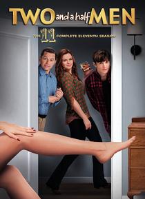 Dois Homens e Meio (11ª Temporada) - Poster / Capa / Cartaz - Oficial 1