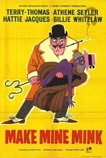 Ladrões de Casacos - Poster / Capa / Cartaz - Oficial 1