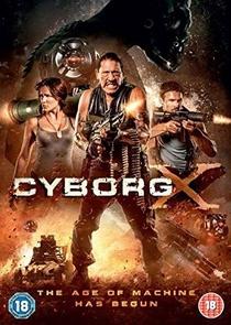 Cyborg X - Poster / Capa / Cartaz - Oficial 3