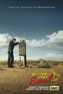 Better Call Saul (1ª Temporada) - Poster / Capa / Cartaz - Oficial 2