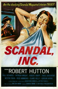 Scandal Incorporated - Poster / Capa / Cartaz - Oficial 2