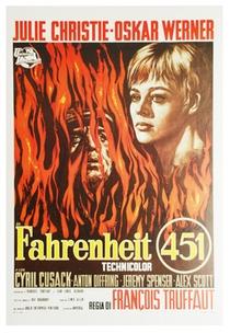 Fahrenheit 451 - Poster / Capa / Cartaz - Oficial 1