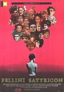 Satyricon de Fellini - Poster / Capa / Cartaz - Oficial 7