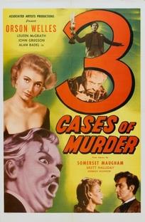 Três Casos de Assassinato - Poster / Capa / Cartaz - Oficial 2