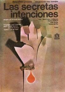As Secretas Intenções - Poster / Capa / Cartaz - Oficial 1