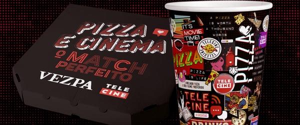 Telecine e A Vezpa se unem em parceria inédita: filme e pizza!