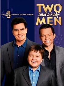 Dois Homens e Meio (4ª Temporada) - Poster / Capa / Cartaz - Oficial 1
