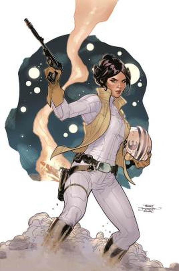 Star Wars: veja um preview da HQ da Princesa Leia