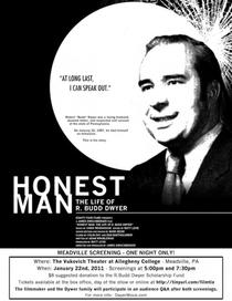 Honest Man: The Life of R. Budd Dwyer - Poster / Capa / Cartaz - Oficial 1