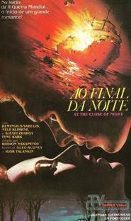 Ao Final da Noite - Poster / Capa / Cartaz - Oficial 1
