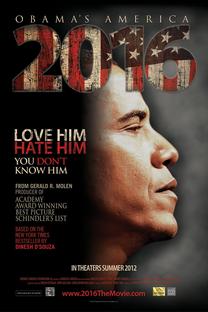 2016: Obama's America - Poster / Capa / Cartaz - Oficial 1