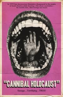 Holocausto Canibal - Poster / Capa / Cartaz - Oficial 6