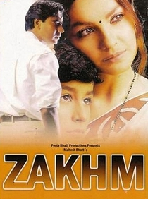 Zakhm - Poster / Capa / Cartaz - Oficial 2