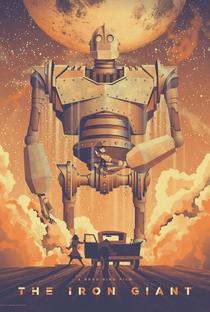 O Gigante de Ferro - Poster / Capa / Cartaz - Oficial 6