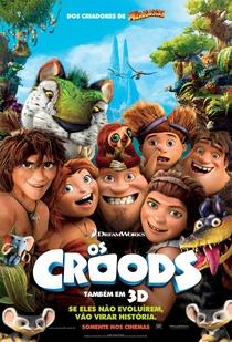 Os Croods - Poster / Capa / Cartaz - Oficial 1