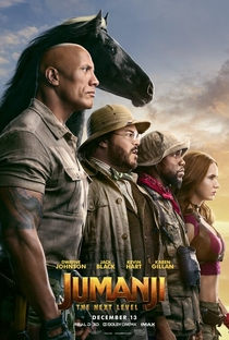 Jumanji: Próxima Fase - Poster / Capa / Cartaz - Oficial 1