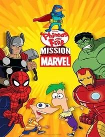 Phineas e Ferb: Missão Marvel - Poster / Capa / Cartaz - Oficial 1