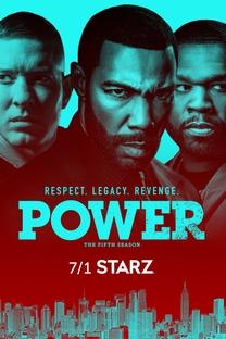 Power (5ª Temporada) - Poster / Capa / Cartaz - Oficial 2