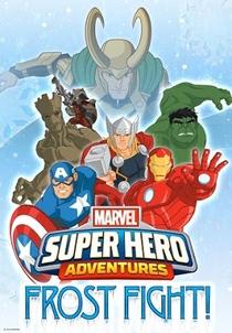 Super Aventuras Marvel: Batalha Gelada - Poster / Capa / Cartaz - Oficial 1