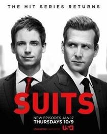 Suits (5ª Temporada) - Poster / Capa / Cartaz - Oficial 2