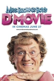 Mrs. Brown's Boys D'Movie - Poster / Capa / Cartaz - Oficial 1