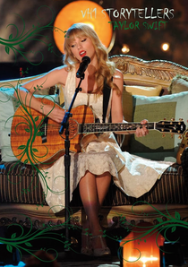 Taylor Swift - VH1 Storytellers - Poster / Capa / Cartaz - Oficial 1
