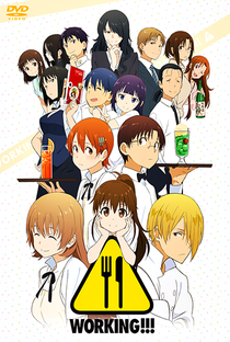 Working!! (3ª Temporada) - Poster / Capa / Cartaz - Oficial 1