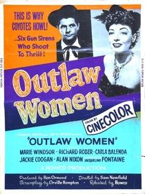 Outlaw Women - Poster / Capa / Cartaz - Oficial 2